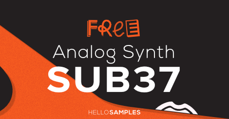 SUB37 Analog Synth