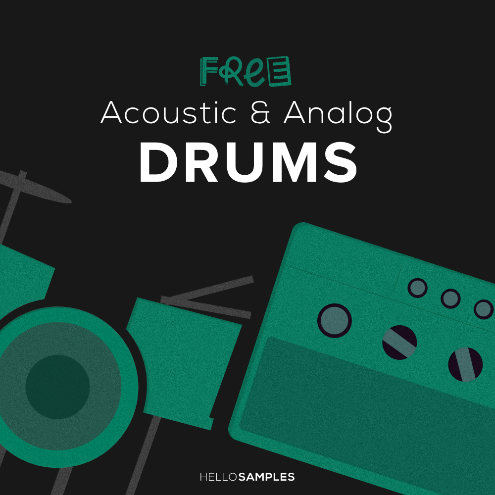 download acoustic and analog drum sounds