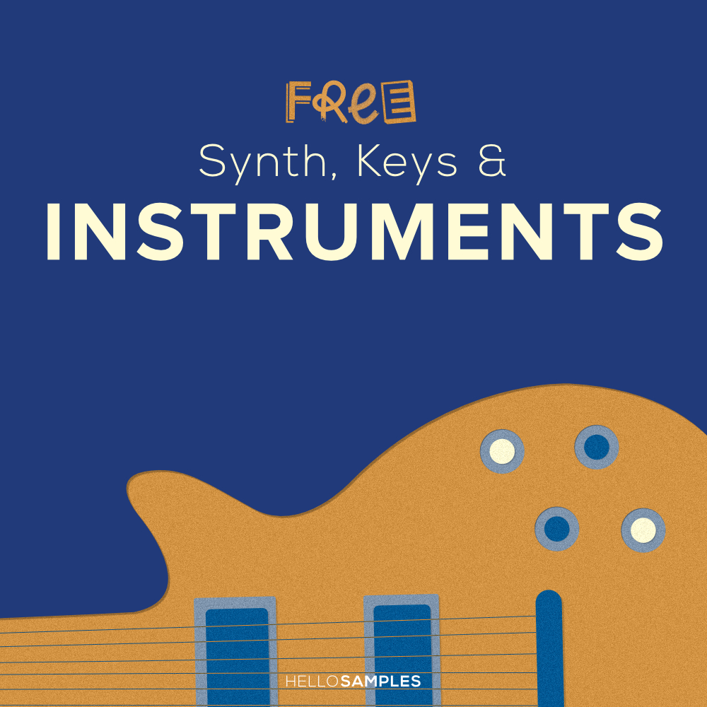 download synth, keys &instruments sounds and samples