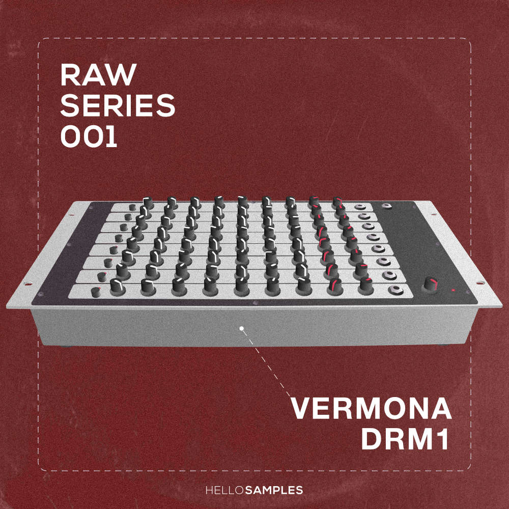 Drum sound pack based on Vermona DRM1 analog drum machine in Wav - Ableton - Maschine - Akai MPC format