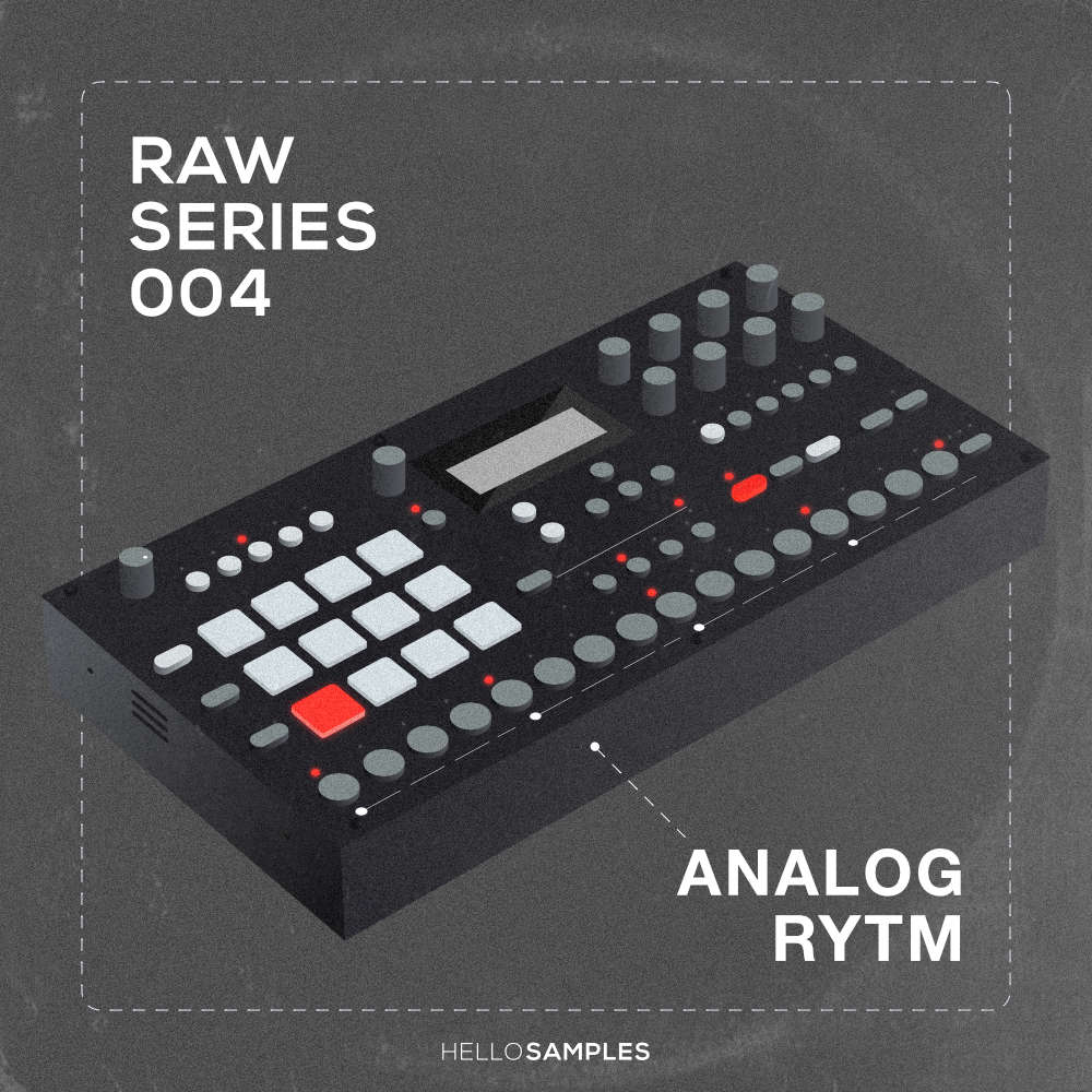 Drum sound pack based on Elektron Analog Rytm in Wav - Ableton - Maschine - Akai MPC format