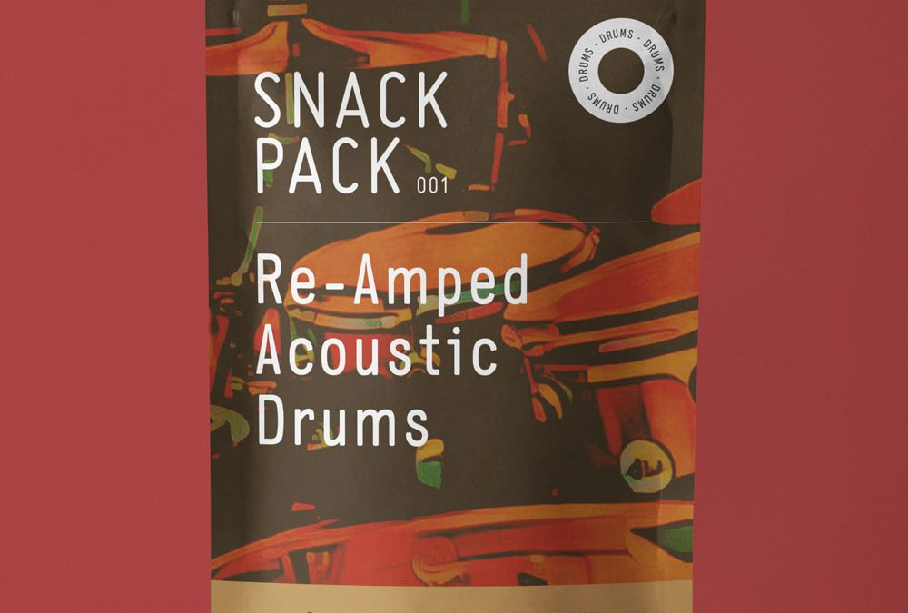 Snack Pack 001: Reamped Acoustic Drums