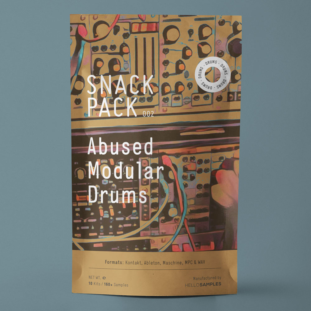 Modular Drums sound pack in Wav - Ableton - Maschine - Kontakt format