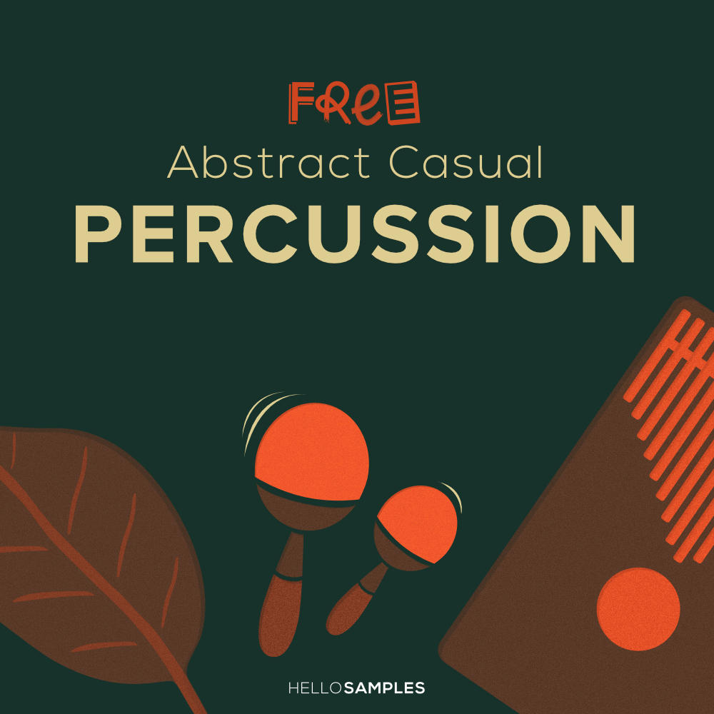 Foley Percussion free sound pack in Wav - Ableton - Maschine - Akai MPC format
