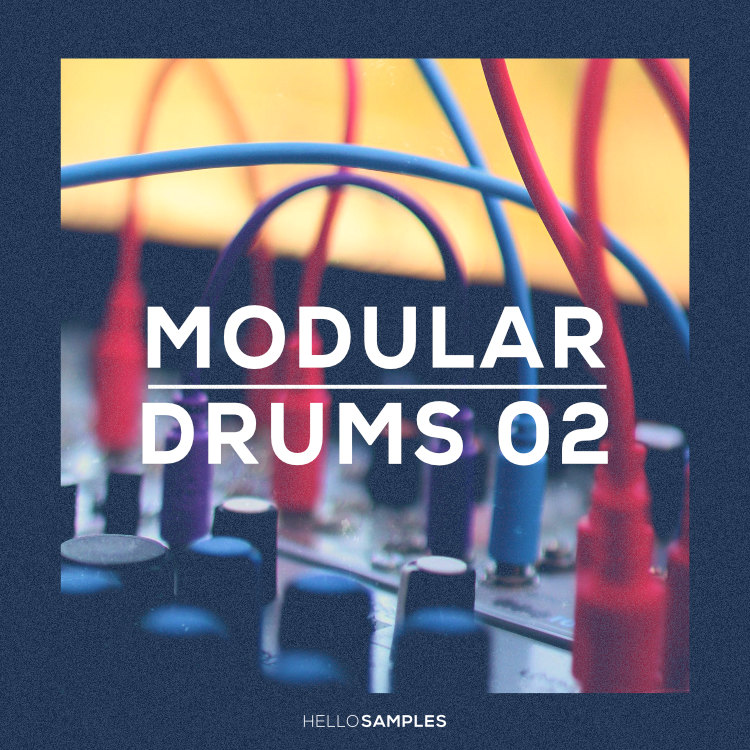 Modular Drums 2 sound pack in WAV - Kontakt - Ableton - Maschine -format
