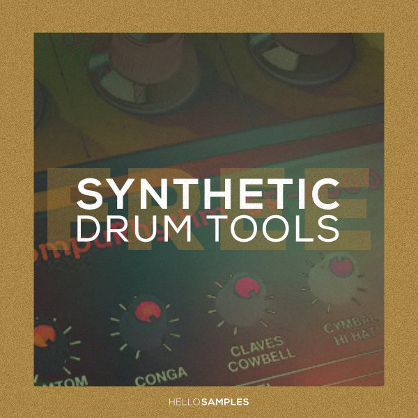 Synthetic Drum Tools sound pack in Wav - Ableton - Maschine - Akai MPC format